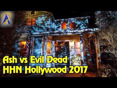 Ash vs Evil Dead maze highlights at Halloween Horror Nights Hollywood 2017