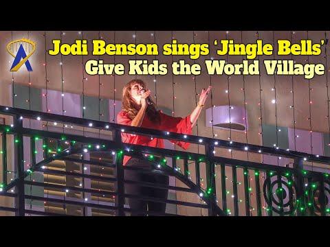 Jodi Benson Sings 'Jingle Bells' At Night Of A Million Lights At Give Kids The World Village