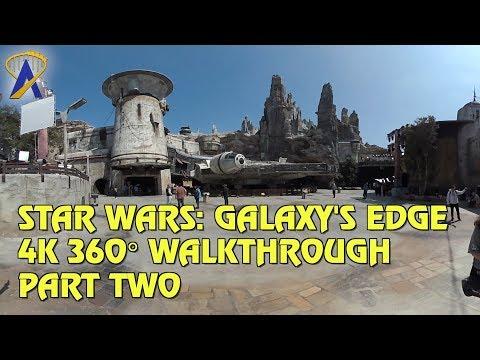 4K 360° VR Walkthrough of Star Wars: Galaxy's Edge - Part Two