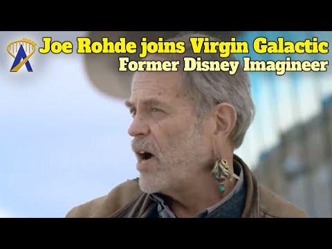 Former Imagineer Joe Rohde Joins Virgin Galactic As Experience Architect