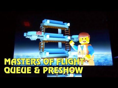 Masters of Flight Queue & Preshow   The LEGO Movie World at Legoland Florida