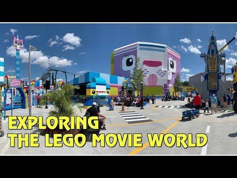 Exploring The Lego Movie World at Legoland Florida Resort