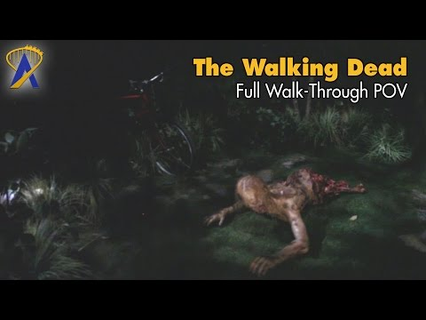 The Walking Dead Attraction POV Walk-Through at Universal Hollywood