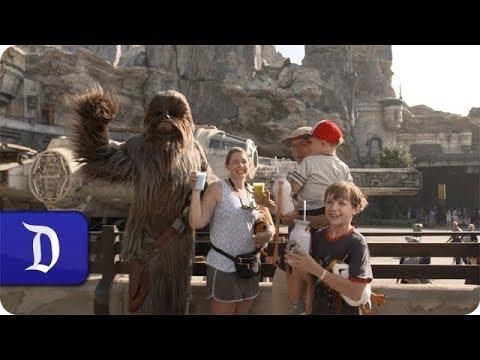 1 Millionth Rider on Millennium Falcon: Smugglers Run at Star Wars: Galaxy's Edge in Disneyland Park