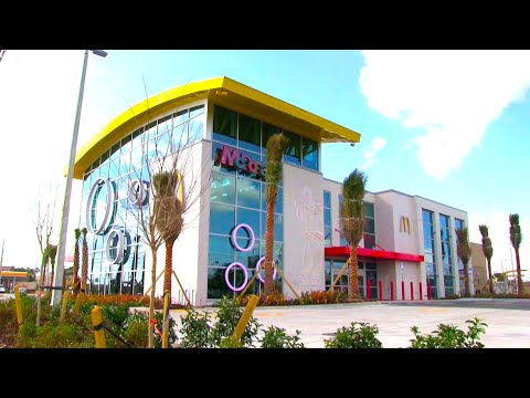 Inside the new Epic McD World's Largest Entertainment McDonald's off I-Drive