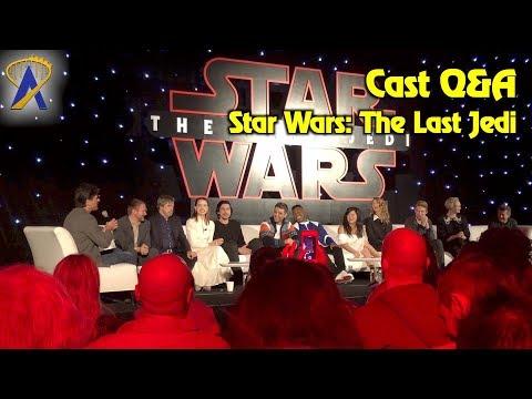 Star Wars: The Last Jedi cast Q&A
