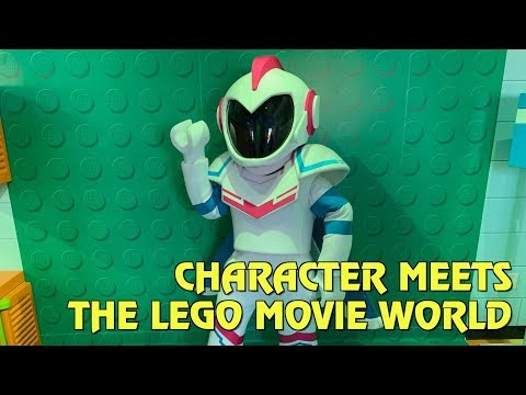 Meet Sweet Mayhem and more inside Emmet's Super Suite in The LEGO Movie World at Legoland Florida