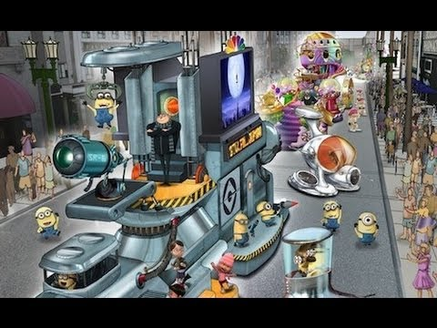 Full Universal Orlando announcement for 2012 - Despicable Me, Spider-Man, new lagoon show