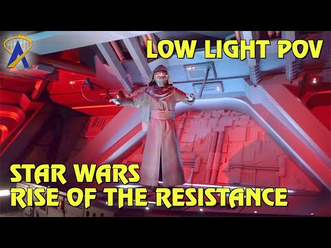 Full Low-Light POV - Star Wars: Rise of the Resistance at Star Wars: Galaxy's Edge Florida
