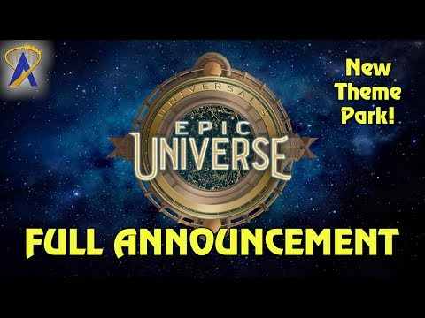 Universal's Epic Universe Announcement - Full Press Conference