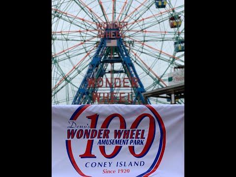 Happy 100th Birthday to Deno's Wonder Wheel from the Vourderis Family