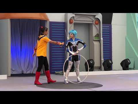 Superhero Acts at the Incredible Tomorrowland Expo
