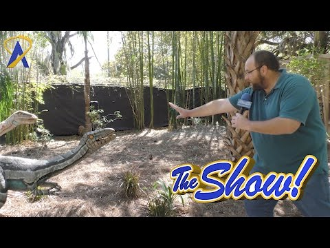 Attractions - The Show - Dinos Alive at Lowry Park Zoo; Topgolf Crush; latest news - March 16, 2017