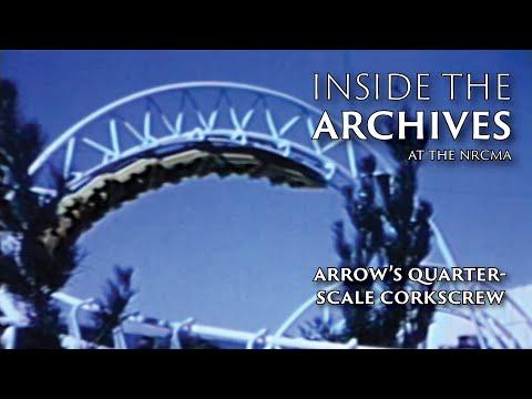 Arrow Development Corkscrew Model Testing   National Roller Coaster Museum & Archives