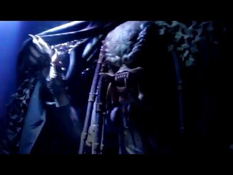 AVP: Alien vs. Predator maze at Halloween Horror Nights in Hollywood