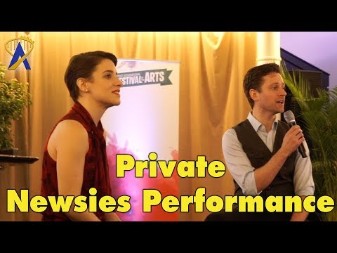 Newsies Song Live plus Q&A with Kevin Massey and Jenn Gambatese