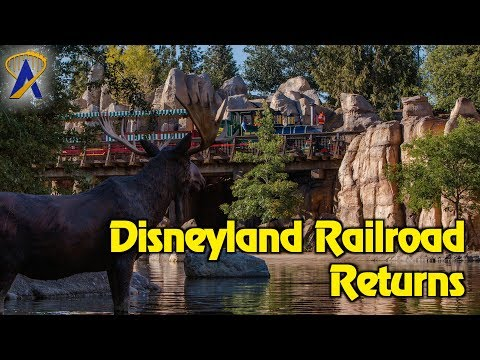Preview of updates to Disneyland Railroad and Rivers of America