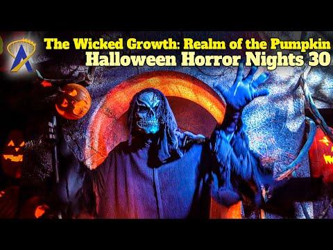 The Wicked Growth: Realm of the Pumpkin Walkthrough - Halloween Horror Nights 30 - Orlando