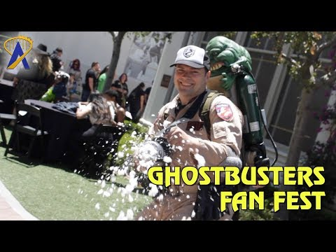 Ghostbusters Fan Fest Highlights at the Sony Pictures Studio Lot