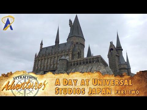 Attractions Adventures - 'A Day at Universal Studios Japan: Part Two' - March 31, 2017