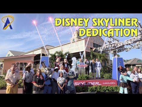 Disney Skyliner Dedication Moment at Walt Disney World Resort
