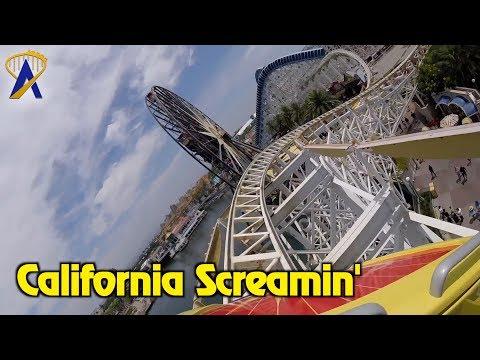 California Screamin' Roller Coaster POV at Disney California Adventure