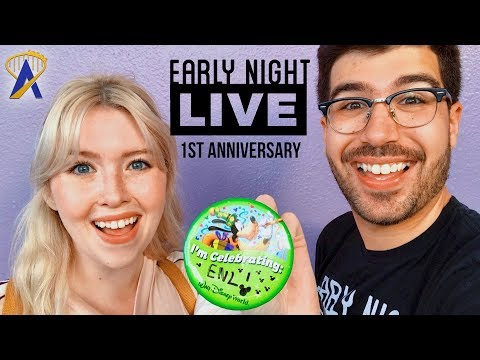 One-year anniversary of ENL at Magic Kingdom! - Early Night Live