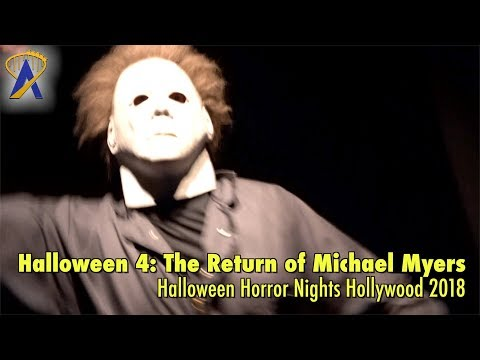 Halloween 4: The Return of Michael Myers maze at Halloween Horror Nights Hollywood 2018