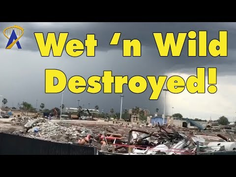 Wet 'n Wild Destroyed - Demolition of a Water Park