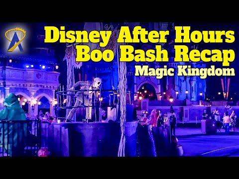 Disney After Hours Boo Bash Recap