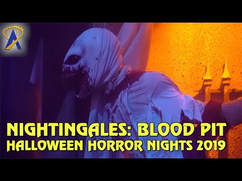 Nightingales: Blood Pit highlights from Halloween Horror Nights Orlando 2019