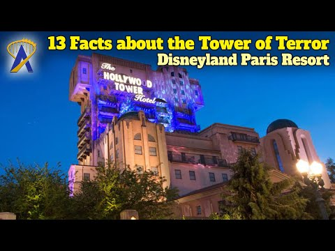 13 Facts You Need To Know About The Tower Of Terror Ride At The Disneyland Paris Resort