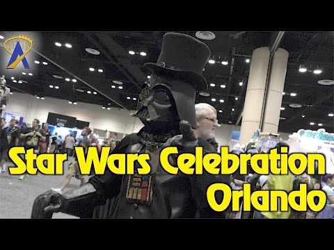 Star Wars Celebration Orlando 2017 - Tour of the Show Floor and More
