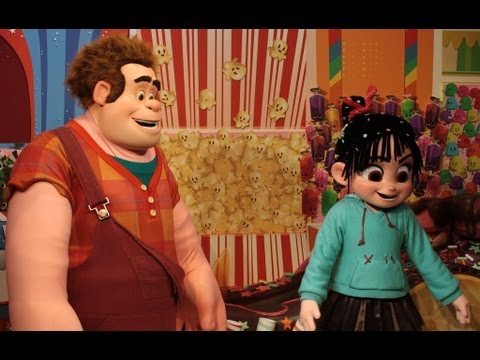 Photo Finds: Be Our Guest restaurant tour, Wreck-It Ralph and more: Nov. 5, 2012