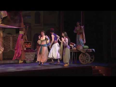 Disney's Aladdin - A Musical Spectacular on the Disney Fantasy cruise ship