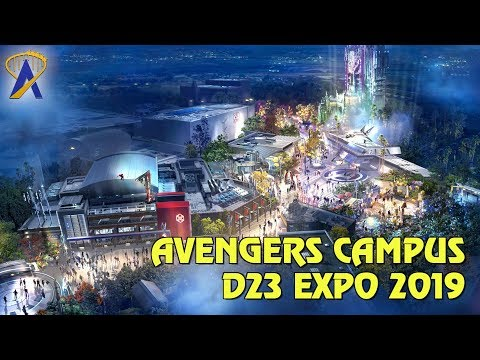 Avengers Campus Details for California and Paris Revealed at Disney's D23 Expo 2019