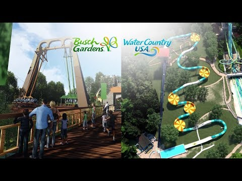 Finnegan's Flyer & Cutback Water Coaster coming to Busch Gardens Williamsburg & Water Country USA