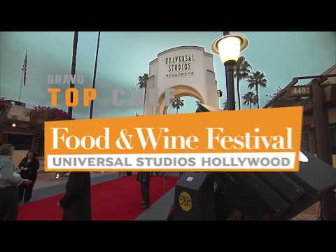 Bravo's Top Chef Food & Wine Festival Coming to Universal Studios Hollywood