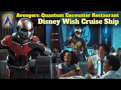 Avengers: Quantum Encounter Restaurant Experience Coming To New Disney Wish Cruise Ship