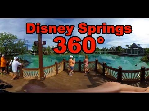 360° Disney Springs Town Center Walkthrough - Grand Opening