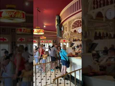 Casey's Corner food service location returns to the Magic Kingdom #Shorts