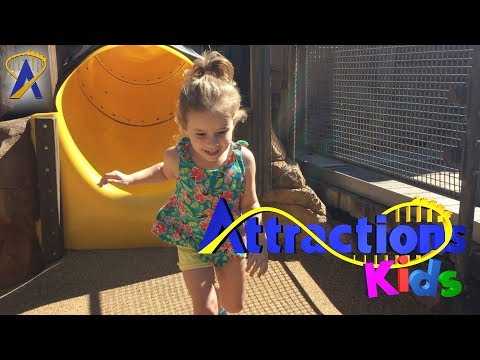 Digging For Dinos At The Boneyard Playground | Attractions Kids