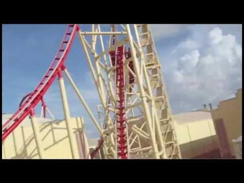 Hollywood Rip Ride Rockit at Universal Studios POV full ride