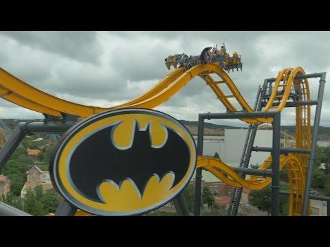 Batman: The Ride POV at Six Flags Fiesta Texas
