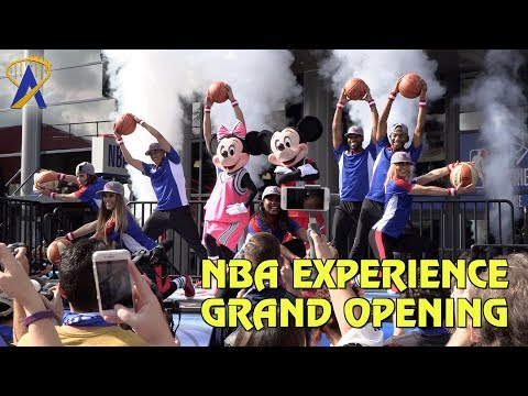 NBA Experience Grand Opening at Disney Springs in Florida