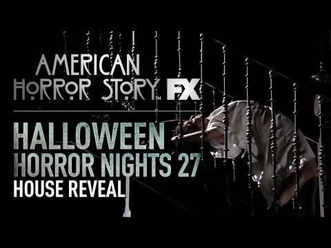 American Horror Story House Reveal   Halloween Horror Nights 27