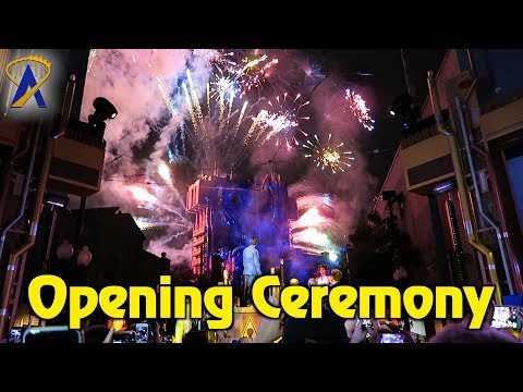 Grand Opening of Guardians of the Galaxy - Mission: Breakout! at Disney California Adventure