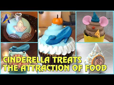 Cinderella-Themed Treats at Walt Disney World - The Attraction of Food