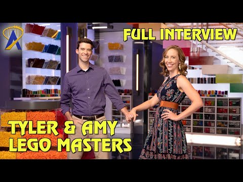 Full Interview with Lego Masters Winners Tyler and Amy
