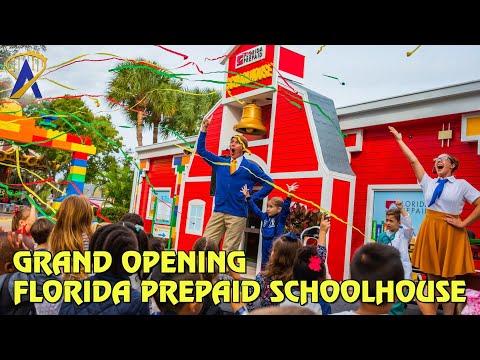 Florida Prepaid Schoolhouse Grand Opening - Legoland Florida